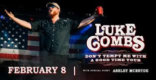 Luke Combs Seating Chart Tickets Luke Combs Hobart Arena