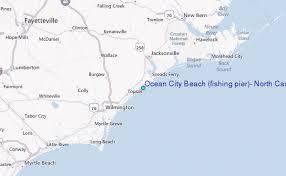 Ocean City Beach Fishing Pier North Carolina Tide Station