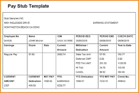 free paystub template excel download pay stub excel template pay stub template 339441606804 free