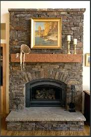 stone veneer fireplace diy stone