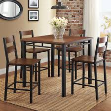 better homes gardens dining set 5 piece counter height table and 4 chairs
