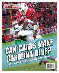 Oct 5 2011 Issue Can Cards Make Carolina Blue By