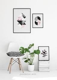 nordic wall art interior design