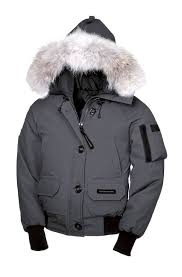 Canada Goose Womens Grey Chilliwack Bomber Jacket outlet stores