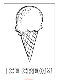 Printable pack is available as a free instant download. Printable Ice Cream Pdf Coloring Pages For Kids