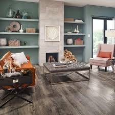 Home Depot Kitchen Flooring Options Pergo Outlast Vintage Pewter Oak 10 Mm Thick X 7 1 2 In Wide X