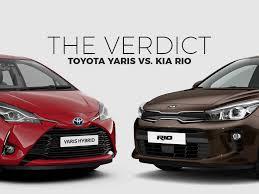 Car Wars: Toyota Yaris vs. Kia Rio | Toyota Motors Philippines ...