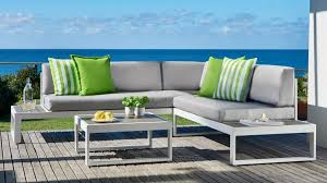 Begonia 3 Piece Modular Outdoor Lounge Setting Outdoor Lounges