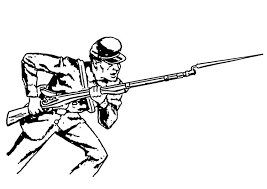 Free Coloring Pages Of Army Soldier 14602 Bestofcoloringcom