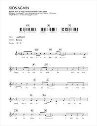 sheet music for kids kids again sheet music by example keyboard 119000
