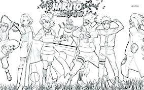 Naruto Vs Sasuke Coloring Pages Games Copy Free Kakashi Online Page
