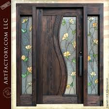 stained glass for front door reclaimed victorian stained glass front door