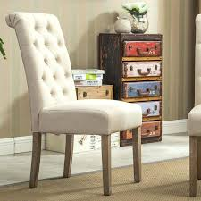 furniture of tufted dining chair set of 2