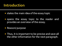 elements and types of essay 3
