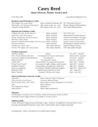 Resume Paper Resume Casey Reed 76