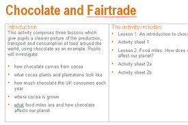 How Much Is Trade School Fair Trade And Chocolate School Projects Fair Trade Teaching