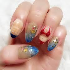 夏海リゾートハンドビジュー ネイルサロン Crystal Candyのネイル