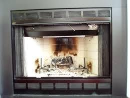 glass fireplace doors er hearth craft sentry contemporary