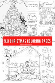 Christmas Coloring Paper Christmas Coloring Pages Skip To My Lou