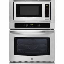 Electric Wall Oven 24 Inch Kenmore 49603 27 Electric Combination Wall Oven Stainless Steel