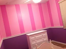 Purple And Pink Bedroom Pink Stripes W Purple Walls Art For New Home Pinterest Pink