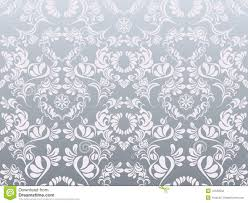 Silver Pattern Extraordinary Abstract Silver Decoration Pattern Stock Vector Illustration Of