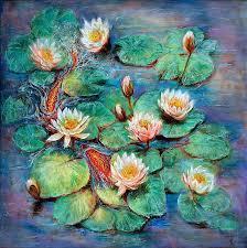 balance fine art print inspired by claude monet s water lilies