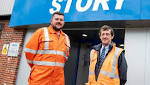 Story Contracting welcomes employee 700 Cumbria Crack