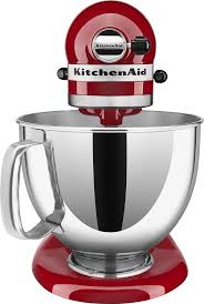 kitchenaid kp26m1xer professional 600 series stand mixer empire red larger front