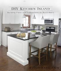 Kitchens With Islands Build A Diy Kitchen Island Build Basic
