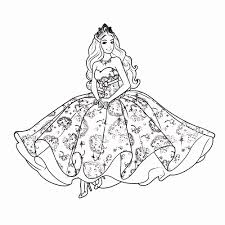 Meiden Kleurplaten Fantastisch Barbie Kleurplaat Printen Archidev