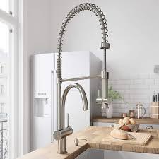 Vigo Vg02006st Dresden Single Handle Pull Down Sprayer Kitchen Sink