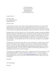 legal cover letter a parody law school blawg law school cover letters