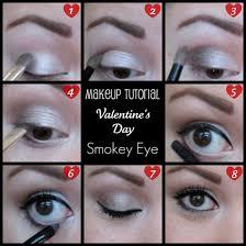 make up tutorial valentine 39 s day smokey eye beauty makeup lucky cute