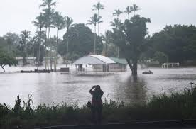 flooding in hilo hawaii where the outer bands of hurricane lane dumped several inches of rain on thursday credit mario tama getty images