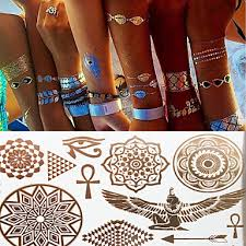 199 1 Pcs Dočasné Tetování Voděodolné Non Toxic Papír Tetovací Nálepky Vzor Spodní část Zad Waterproof