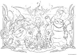 Print pokemon coloring pages for free and color our pokemon coloring! Pokemon Evolution 2019 Coloring Pages Printable