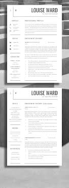 good cv template 190 best resume design layouts images on pinterest cv template