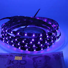Blacklight Led Rope Light 5m Uv Led Strip Black Light 5050 3528 Smd Ultraviolet 395