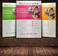 chow wing j jacccey education collection creative market daycare flyer templates