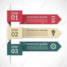 Modern Chart Design Modern Minimal Arrow Infographic Elements Design Template For