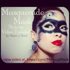 you know how sometimes it looks really bad after you ve slept in your makeup masquerade