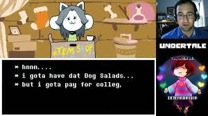 Infinite Money Via Dog Residue Tem Shop Undertale
