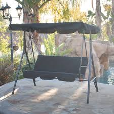 3 person swing costco search of outdoor patio swing with canopy