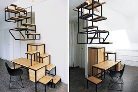 Stairs Furniture Mieke Meijeru0027s Suspended Stairs Storage Furniture