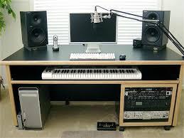 home studio desk plans elegant 53 best home audio fices images on