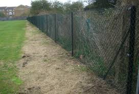 metal chain fence. Simple Chain Industrial Fencing Chain Link Fencing Security Rainham Essex  With Metal Fence