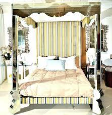mirrored canopy bed – nightowlstudio