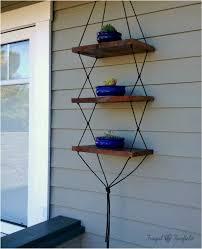 diy hanging shelves frugal in fairfield