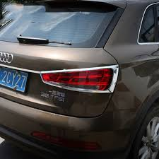 Audi A6 Abs Light Stays On Us 28 04 32 Off Montford For Audi Q3 2013 2014 2015 2016 2017 2018 Exterior Abs Chrome Rear Tail Light Lamp Cover Trims Taillight Frames 2pcs In